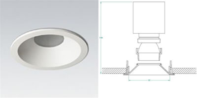 Lucent downlight